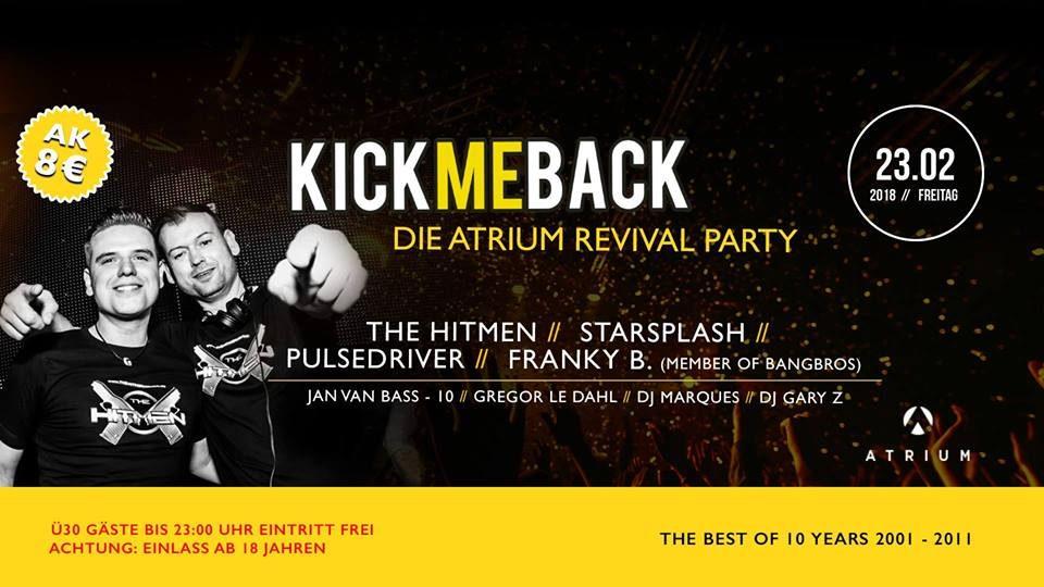 Kick Me Back (23.02.2018)