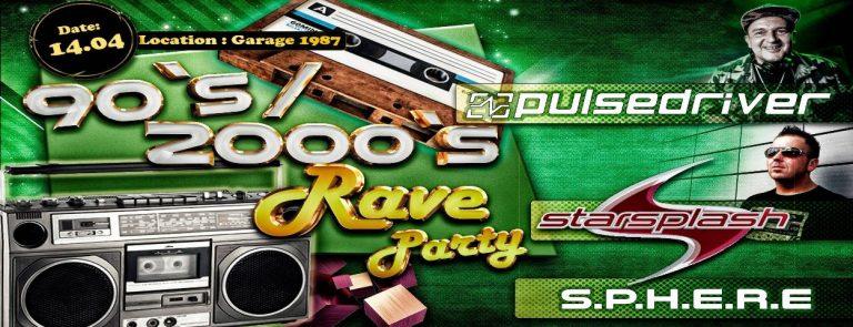 90s / 2000er Rave – BTTR (14.04.2018)
