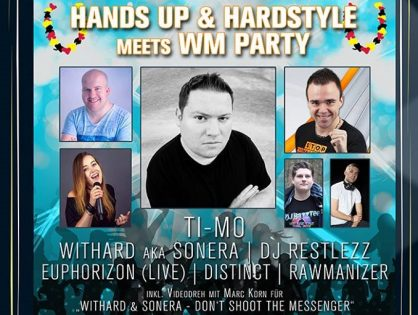 Hands Up & Hardstyle meets WM Party (16.06.2018)